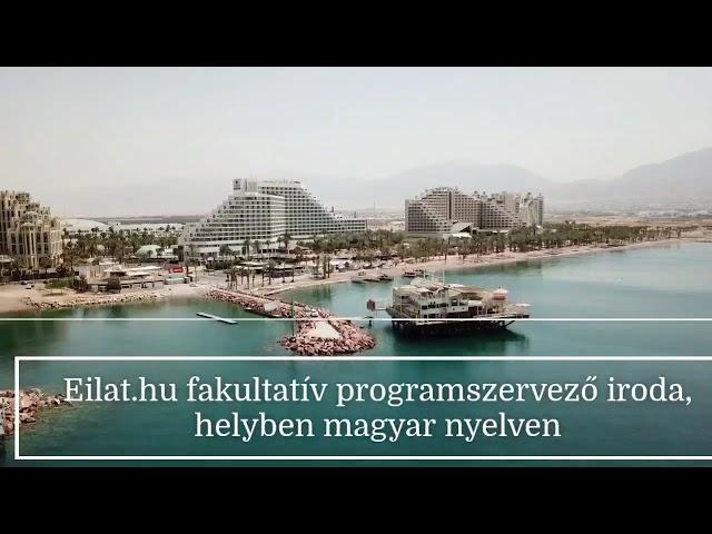#utazás ,  #Eilatba - Izraelbe  magyarul