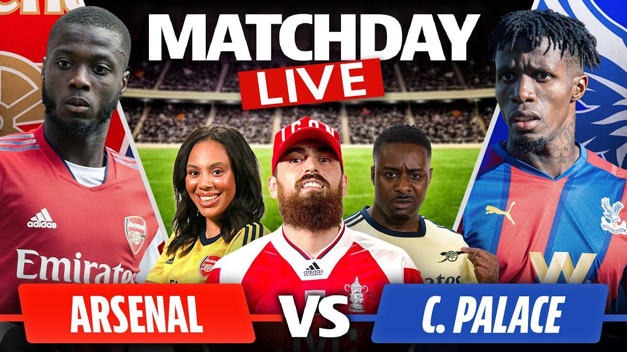 Download Arsenal vs Crystal Palace   Match Day Live