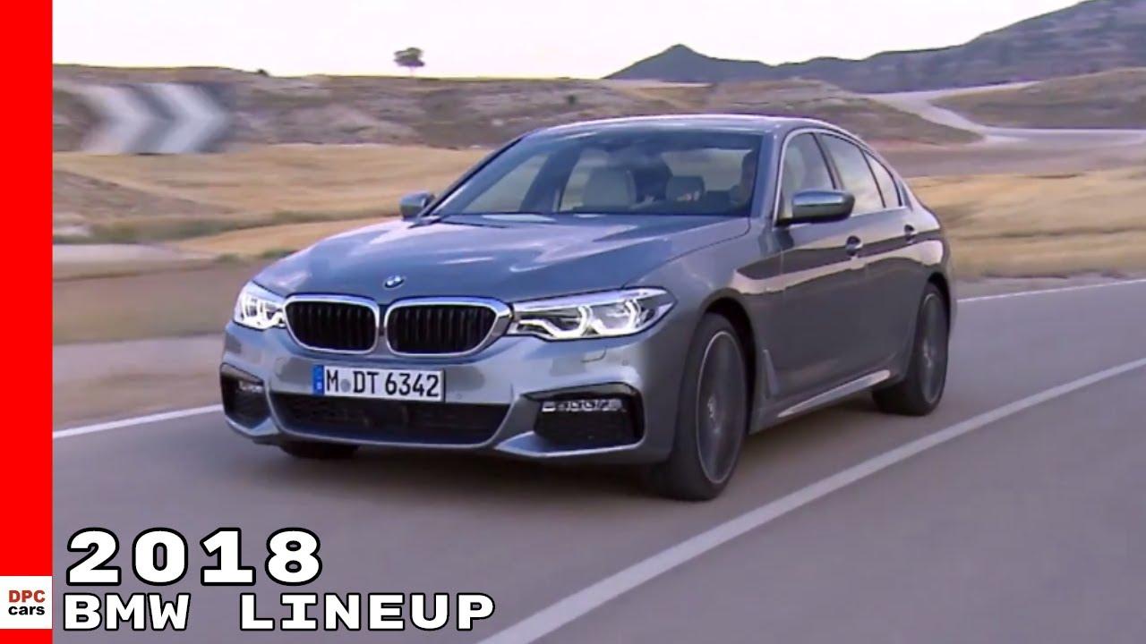 2018 BMW Cars Lineup