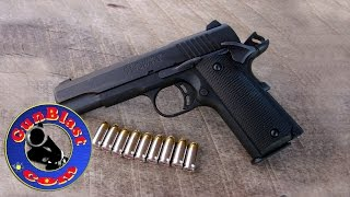 Shooting the Browning 1911-380 Black Label 380 ACP Semi-Automatic Pistol - Gunblast.com
