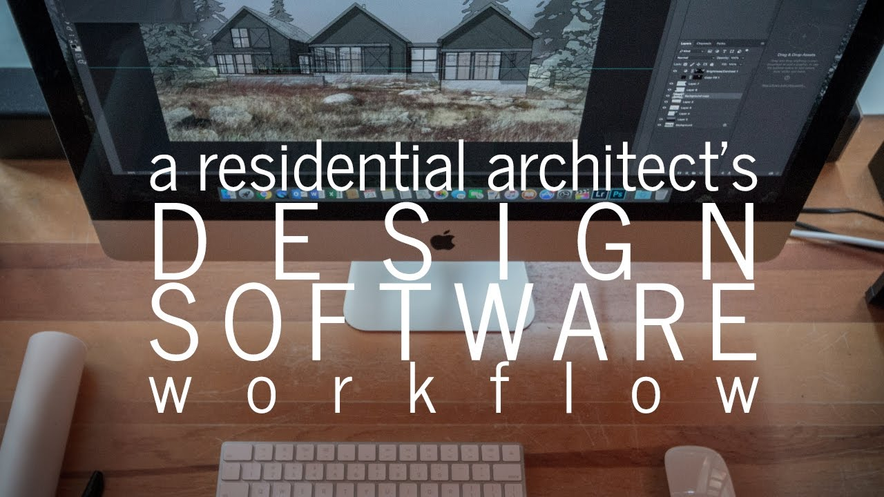 A Residential Architect S Workflow Design Software