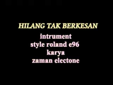 dangdut instrument roland e96 karya zaman electone