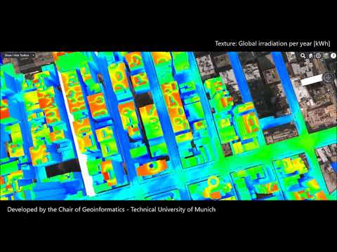 NYC - Solar Potential and Urban Heat Island Effect Visualization