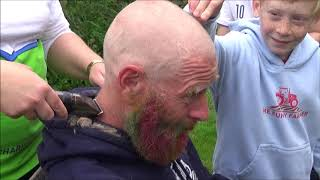 THE GREAT SHAVE OFF FOR THE AIR AMBULANCE