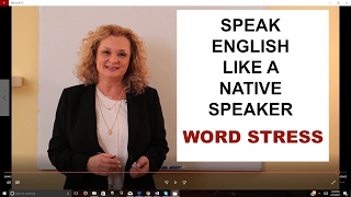 Speak English Like a Native Speaker - The Rhythm and Melody of English | Accurate English