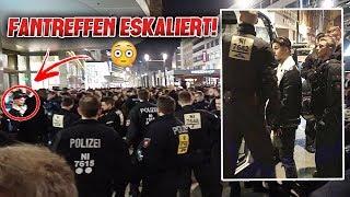 FANTREFFEN IN FRANKFURT ESK*LIERT !! (von Esko*te abgeführt)