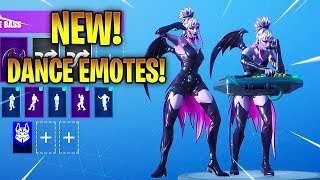 'NOUVEAU' DUSK SKIN Avec NEW DANCE EMOTES! Fortnite Bataille Royale