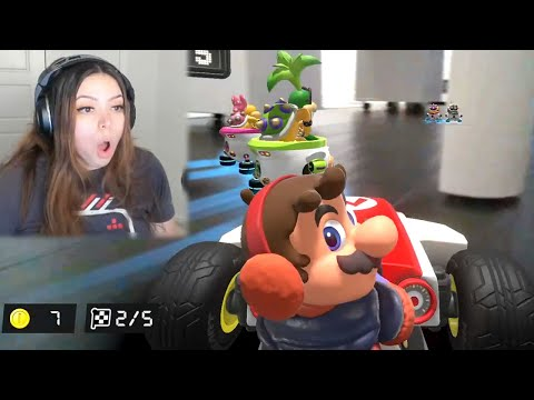 Mario Kart Home Circuit is incredibly fun on stream!