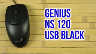 Розпакування Genius NS 120 USB Black