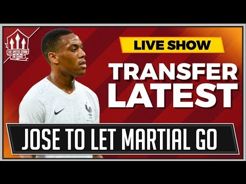 Jose MOURINHO Ready to SELL Anthony MARTIAL | MAN UNITED News