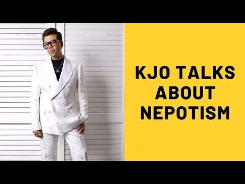 Karan Johar Talks About The Nepotistic Gang And Single Achiever   SpotboyE
