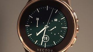 Vector smartwatch promises 30 day battery with classic design