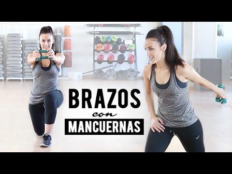 Rutina de ejercicios de brazos y piernas con mancuernas for Pesas y mancuernas