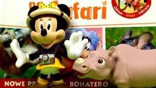 Przyjaciele na Safari #13 • Disney • Nosorożec Walter • Encyklopedia zwierząt z zabawkami