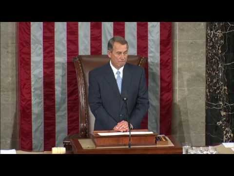 United States House of Representatives elects new speaker
