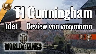 WoT · Review T1 Cunningham · [de]