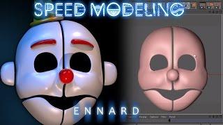 FNAF SL Ennard Mask | Speed Modeling