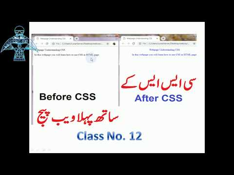 12- Complete HTML Course In Urdu-Hindi (CSS Style In HTML) - Lunar Computer College