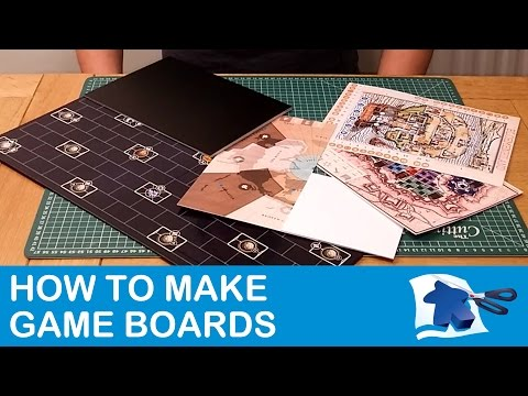 How To Make Game Boards - Dining Table Print And Play