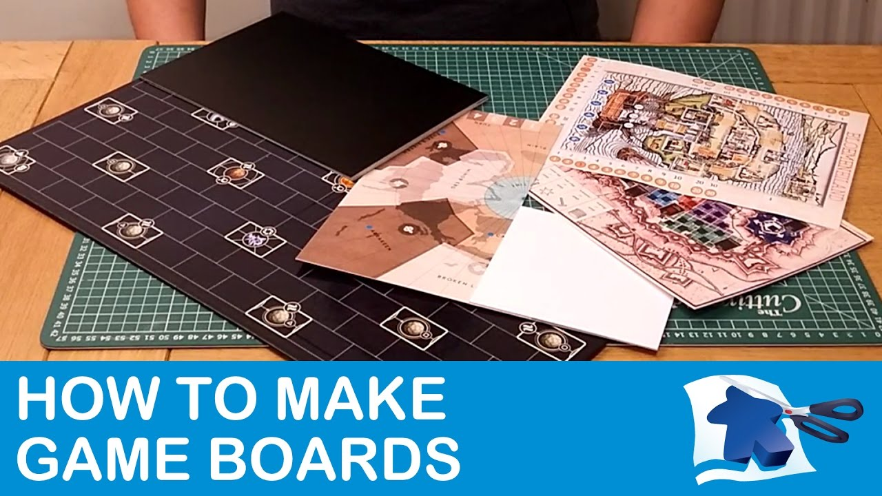 How to Make Game Boards Dining