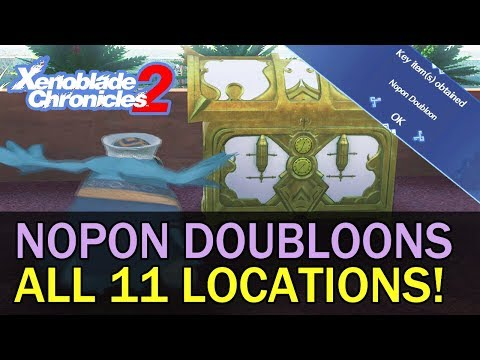 All 11 Nopon Doubloon Locations Quest Guide - Xenoblade Chronicles 2