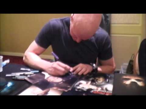 Carmie meets Derek Mears at Days of the Dead Chicago