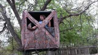 "The ""no Construction"" Tree House For Kids"
