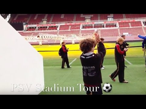 PSV Stadium Tour| (Holland Trip)