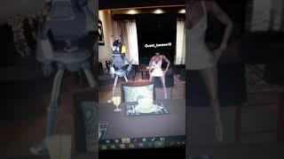 MORE ROBOT DANCING.
