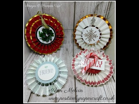 Beautiful Rosettes Made With Washi Tape & Awesomely Artistic