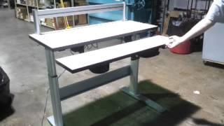 B-K Office Supply. adjustable desk