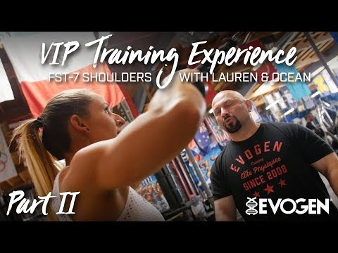 Evogen's VIP Training Experience as Hany trains Lauren and Ocean in LA, Part II