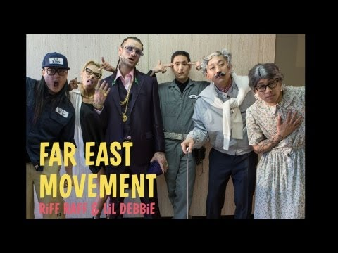 Far East Movement ft. Riff Raff -- The Illest BTS