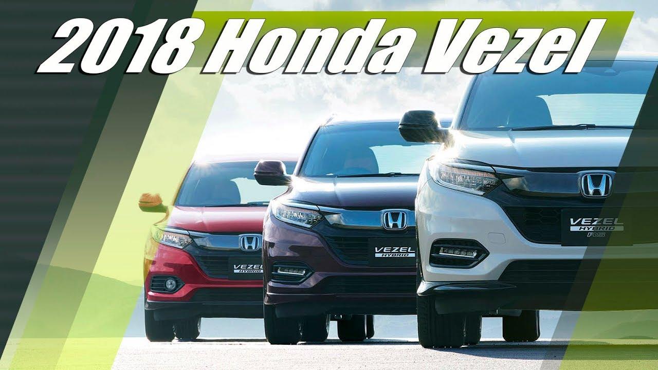 New 2018 Honda Vezel (HR-V) JDM Facelift - Exterior ...