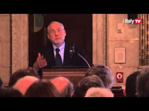 Joseph Stiglitz at The Italian Academy - Columbia University