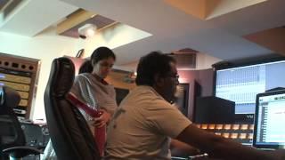 Endhaiyum Thaayum Song recording - 2| எந்தையும் தாயும் | Bharathiyar | Hariharan | S. J. Jananiy