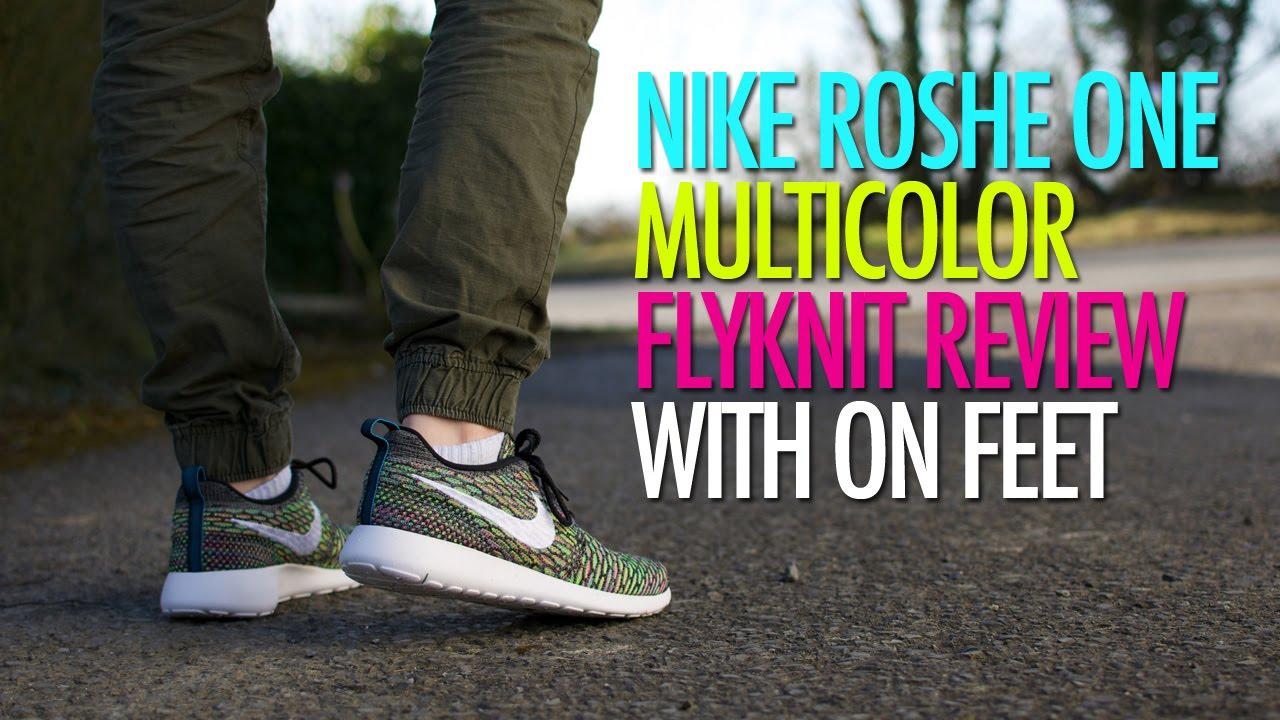 Nike Roshe Flyknit Multicolor