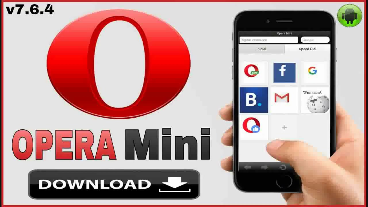 Opera Mini V764 Download Apk Youtube