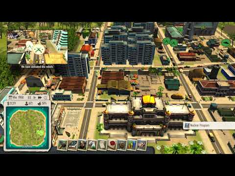 Tropico 5 - Part 10 - Barely Re-elected  