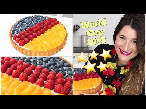 WM-Rezept ⚽️ Deutschland-Kuchen zur WM 2018 ⚽️ in Schwarz Rot Gold | FIFA 2018