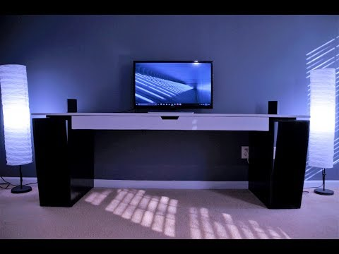 DIY: MAKE A DESK FOR HOME OFFICE