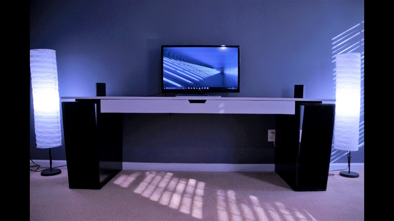 How To Build Make Modern Desk For Home Office