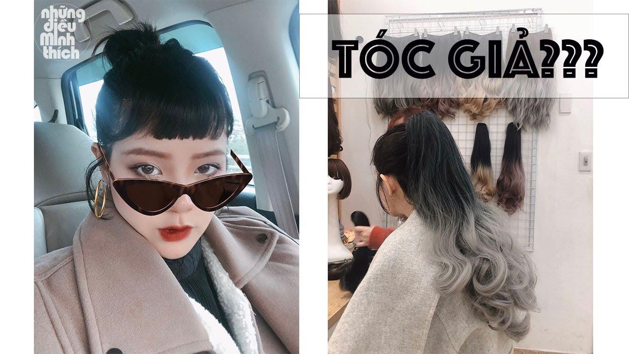Thay đổi phong cách cùng tóc giả   cách đội tóc giả   Tổng quát những nội dung về đầu tóc giả nữ đầy đủ