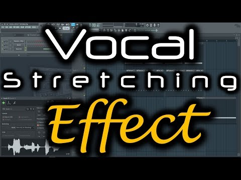 VOCAL EFFECT TUTORIAL | Hardstyle Vocal FL Studio | How to Make Vocal Effects Time Stretching Vocals