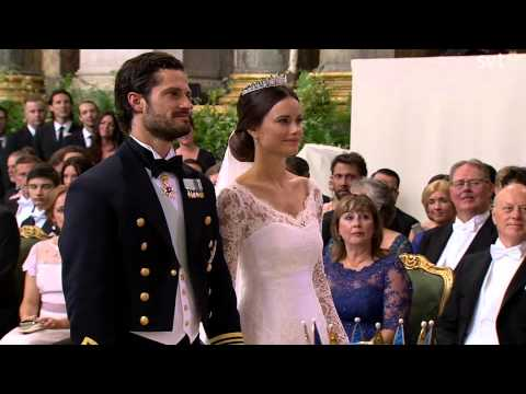 Prince Carl Philip of Sweden & Sofia (Wedding ceremony) (Jun