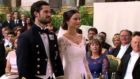 Prince Carl Philip of Sweden & Sofia (Wedding ceremony) (June 2015)