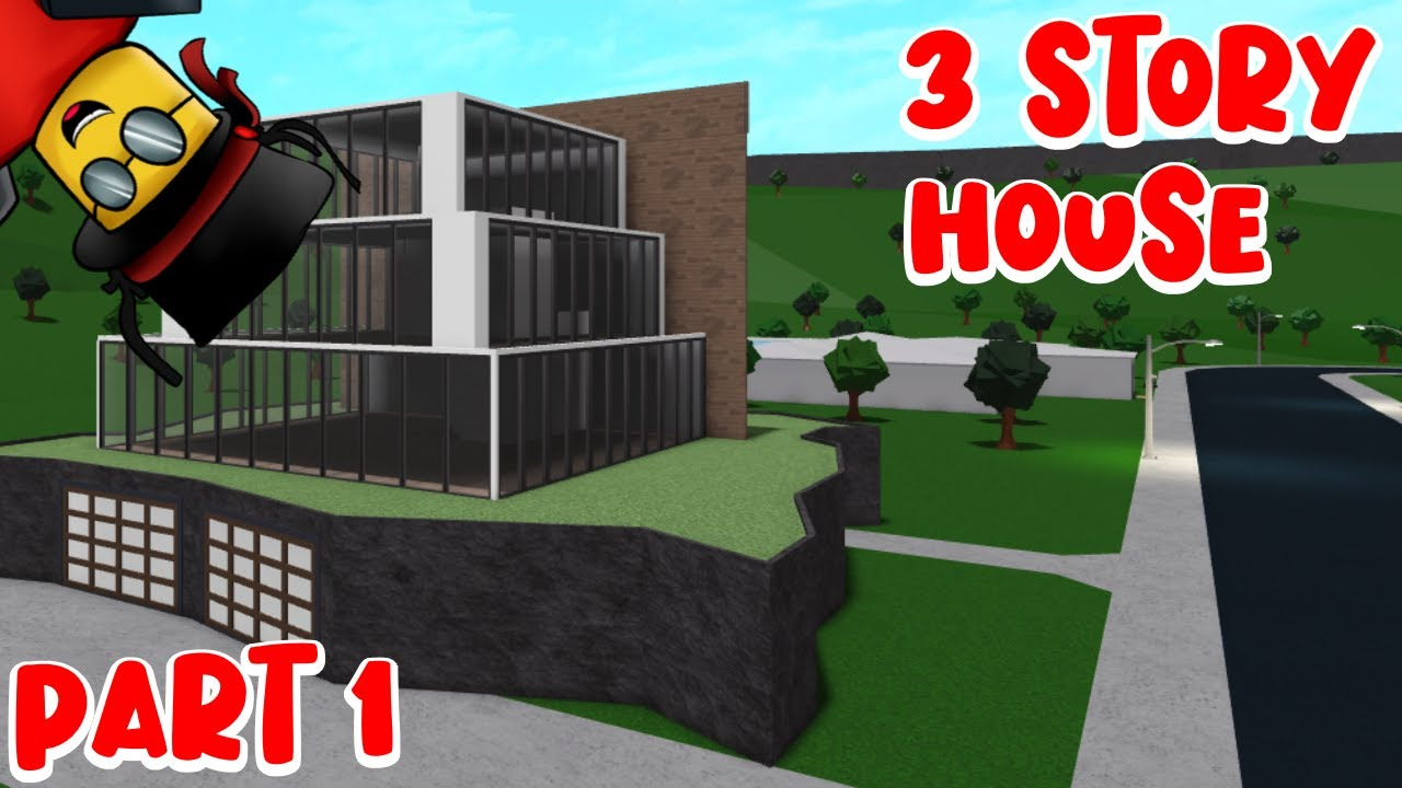 3 story modern house -Bloxburg - YouTube