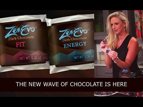 ZenEvo Dark Chocolate, for Energy and Weight Loss!