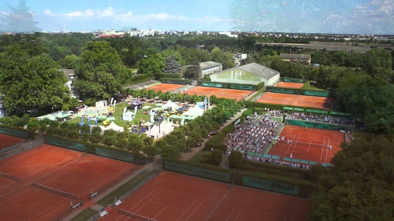 tennisklub gr n weiss mannheim flying picture service youtube. Black Bedroom Furniture Sets. Home Design Ideas