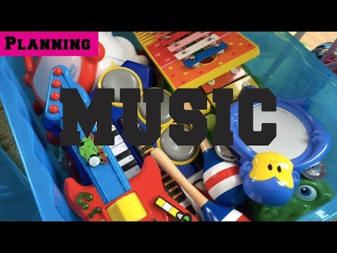 Early Years Planning - Childminding Topic - Music
